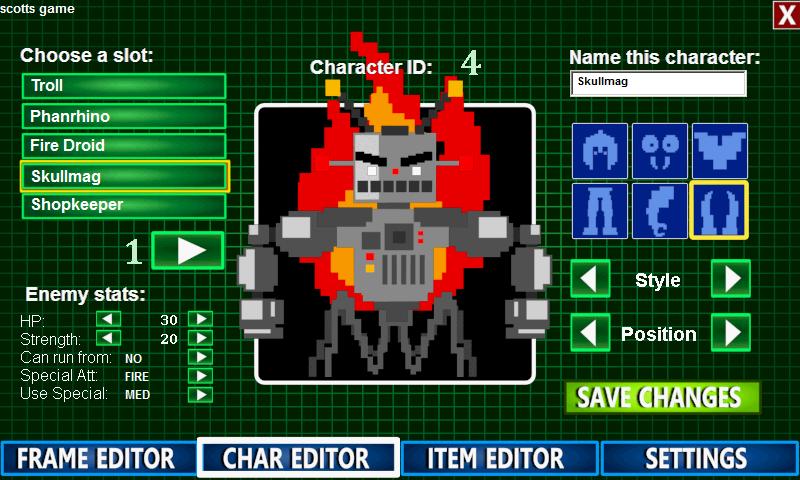 Indie Game Creators » 8-Bit RPG Creator